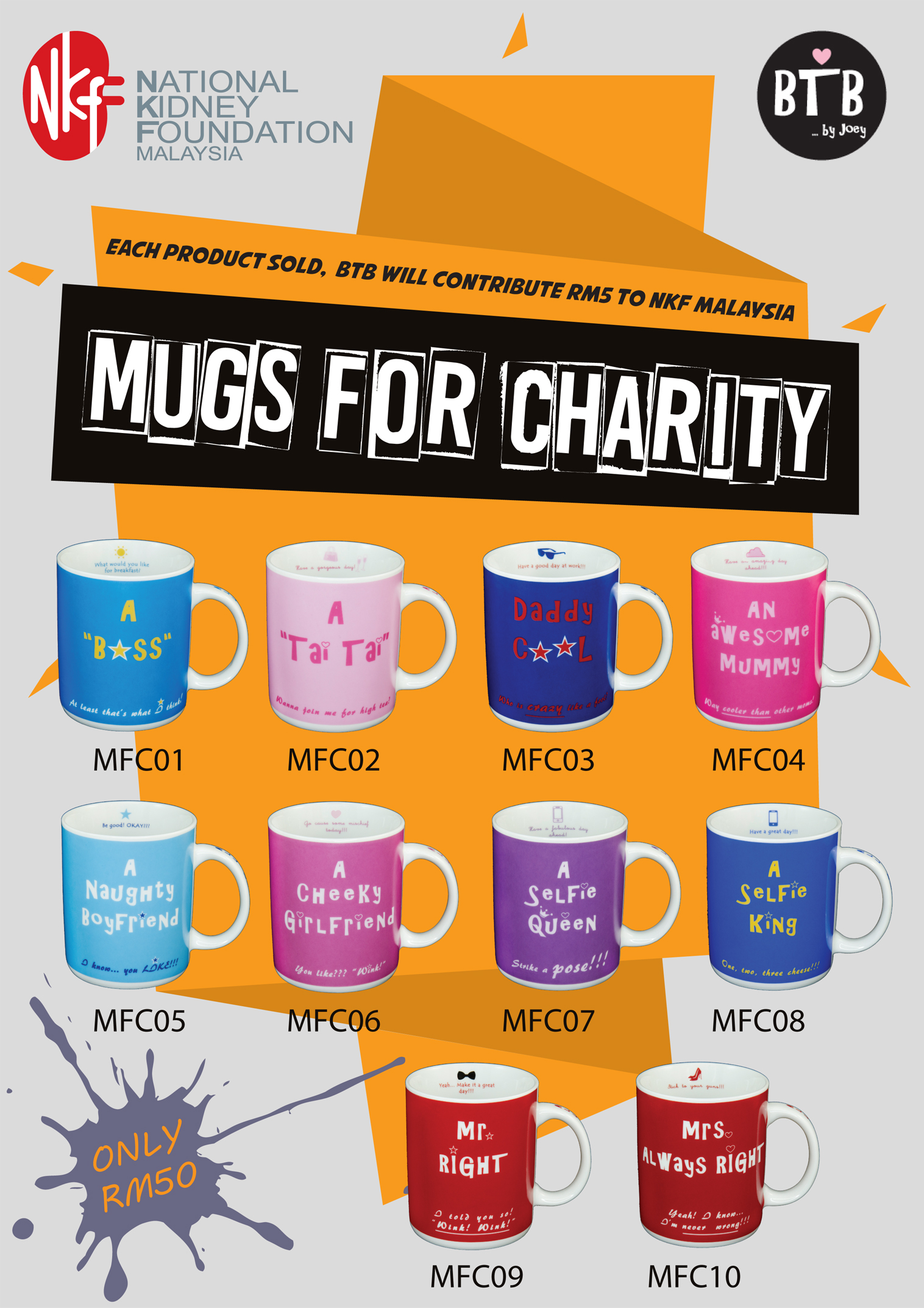 Merchandise - National Kidney Foundation Malaysia